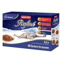Image of Animonda Rafiné Wintertraum Mixpack - 12 x 100 g (4 Sorten)
