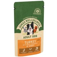 Special offers on James Wellbeloved Adult Pouches Turkey with Rice Saver Pack 10 x 150g