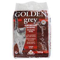 Dubbelpak 2 x 14 kg Golden Grey Kattenbakvulling