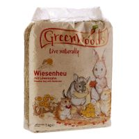 Greenwoods Meadow Hay 1kg - Wild Apple