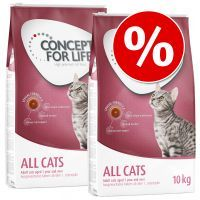 Dwupak Concept for Life - Sensitive Cats (2 x 10 kg)