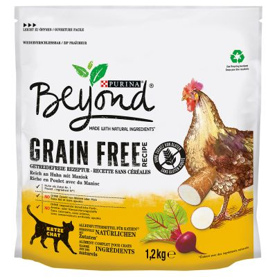Purina Beyond Grain Free Chicken - 1,2 kg