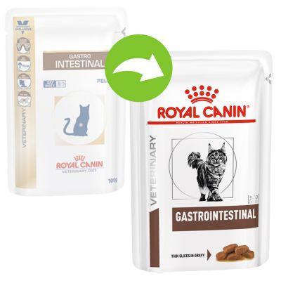 Royal Canin Gastro Intestinal Veterinary Diet sobres para gatos - 12 x 85 g