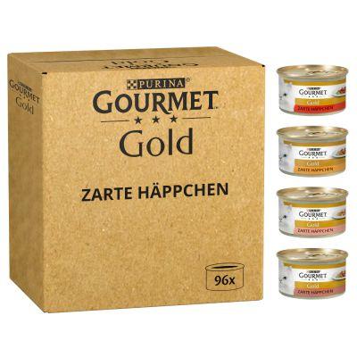 Gourmet Gold -jumbopakkaus: 96 x 85 g - Hienostunut patee: nauta, kani, lammas, vasikka