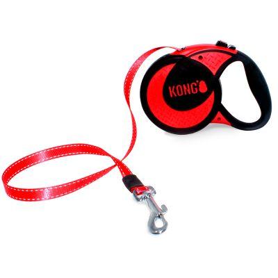KONG Ultimate -kelatalutin, punainen - XL-koko: max 70 kg, hihnan pituus n. 5 m