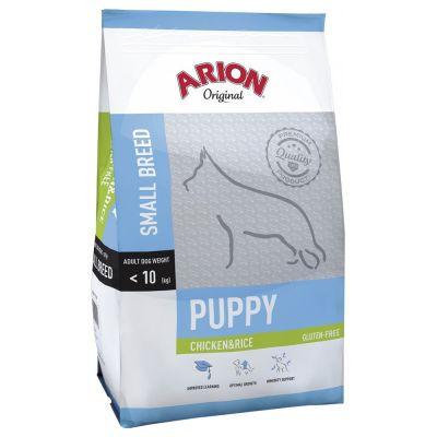 Arion Original Puppy Small Breed Chicken & Rice - säästöpakkaus: 2 x 7,5 kg