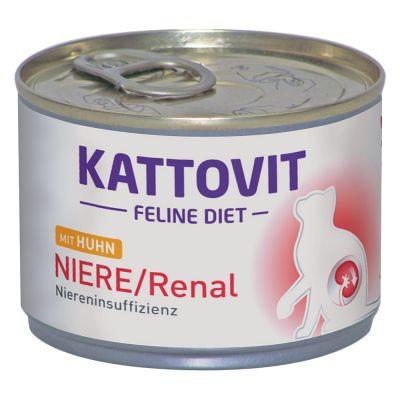Kattovit Renal Diet 6 x 175 g – kana