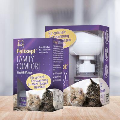 Felisept Family Comfort - pistorasiaan kytkettävä haihdutin + täyttöpullo 45 ml
