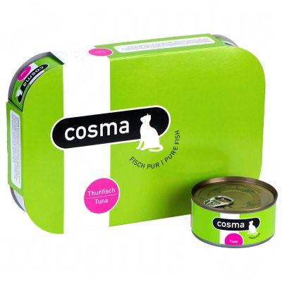 Cosma Original hyytelössä 6 x 170 g - lajitelma, 5 makua