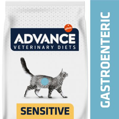 Advance Gastroenteric Sensitive Veterinary Diets para gatos - 2 x 8 kg - Pack Ahorro