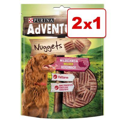 Purina AdVENTuROS Nuggets 2 x 300 g snacks para perros en oferta: 1 + 1 ¡gratis! - 2 x 300 g