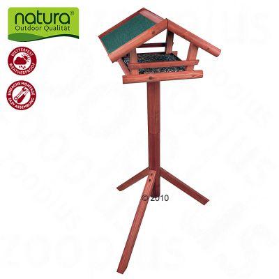 Natura fågelbord med fot – 1 st