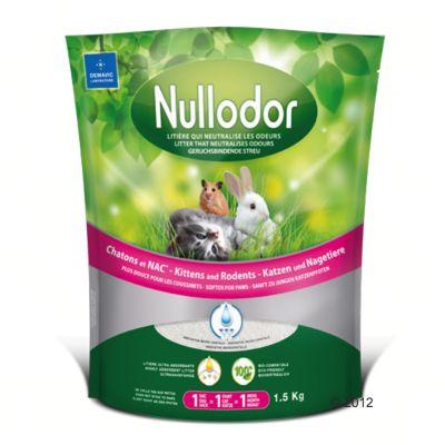 Nullodor-silikaattikuivike kissoille ja pieneläimille - 1,5 kg