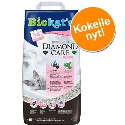 Kokeilupakkaus: Biokat's-kissanhiekka 10 l - DIAMOND CARE Fresh