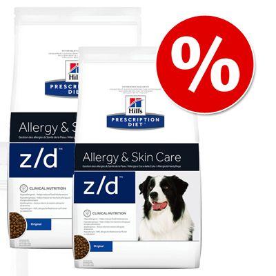 Sparpaket Hill´s Prescription Diet Canine 2 x Großgebinde - u/d Non-Struvite Urinary (2 x 12 kg)