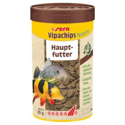 Sera Vipachips Nature -ruokatabletit - 250 ml