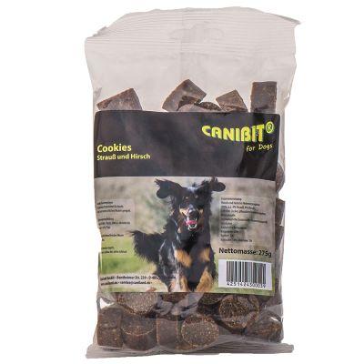 CANIBIT-strutsin- ja peuranlihakeksit - 275 g