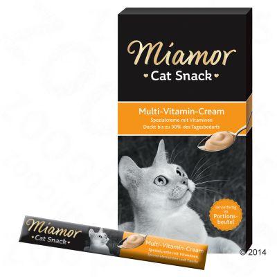 Miamor Cat Snack Multi-Vitamin Cream - 24 x 15 g