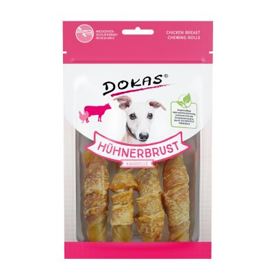 Dokas barritas de pechuga de pollo para perros - 250 g