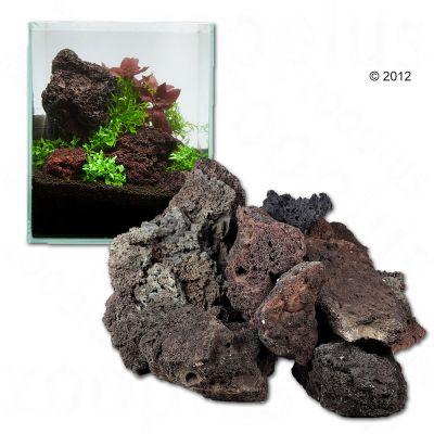 IJslandlava - 60 cm Set: 9 Natuurstenen, ca. 3 kg