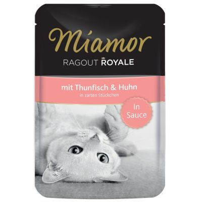 Miamor Ragout Royale in Gravy tai Jelly 22 x 100 g - kaninliha, in Jelly