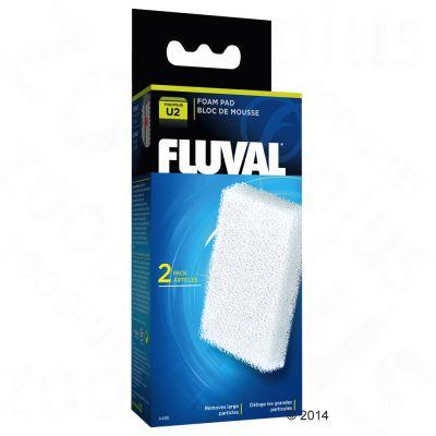 Hagen Fluval U Serie filterinlägg av skumplast – 2 filterinlägg för U4