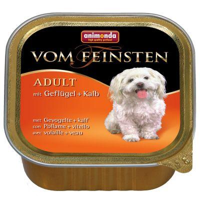 Image of Animonda Vom Feinsten 22 x 150 g Mixpack - Mix 1: 4 Sorten mit Geflügel