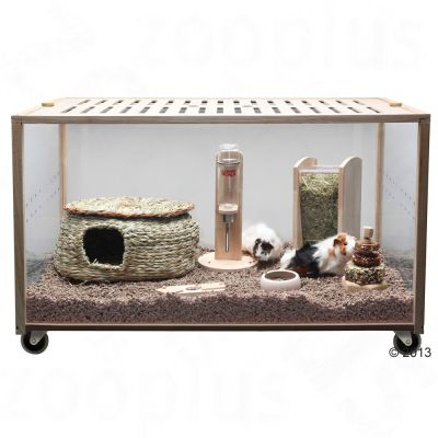 Living World Green Eco Habitat – L 98,5 x B 58,5 x H 61 cm