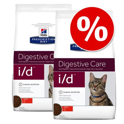 Hill's Prescription Diet Feline -säästöpakkaus - c/d Multicare Urinary Care - kana (2 x 10 kg)
