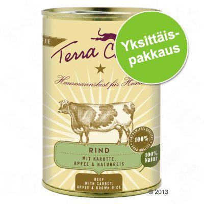 Terra Canis 1 x 400 g - lammas, kesäkurpitsa, hirssi & tilli