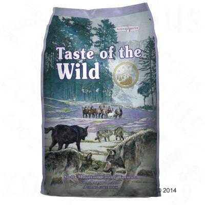 Taste of the Wild Sierra Mountain - säästöpakkaus: 2 x 13 kg