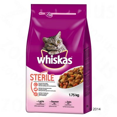 Whiskas Sterile – Ekonomipack: 2 x 1,75 kg