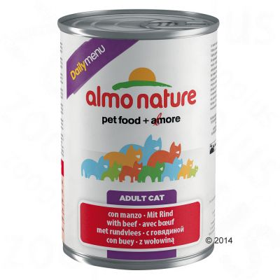 Almo Nature Daily Menu - 6 x 400 g  Almo Nature Daily Menu Kalkoen Kattenvoer