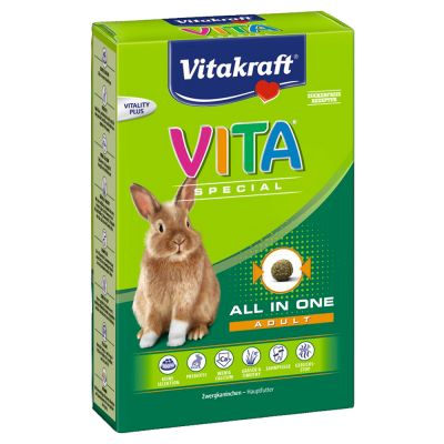 VITA Special Adult Królik miniaturowy - 3 x 600 g