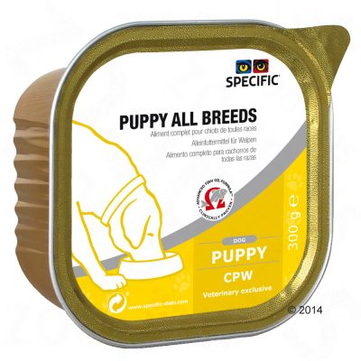 Specific Dog CPW – Puppy All Breeds wet food – 6 x 300 g