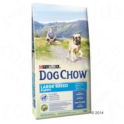 Purina Dog Chow Large Breed Turkey – Ekonomipack: 2 x 14 kg