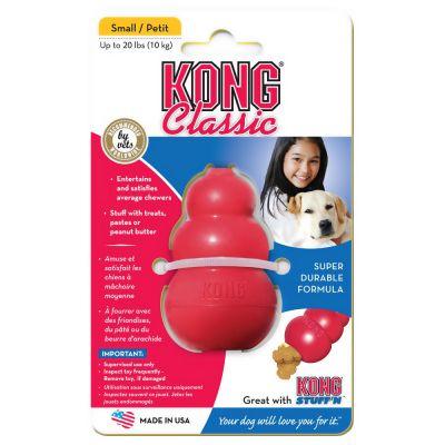 hracka-kong-classic-guma-cervena-medium