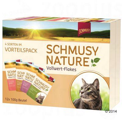 schmusy-nature-volwaardige-vlokken-probeerpakket-12-x-100-g-12-x-100-g