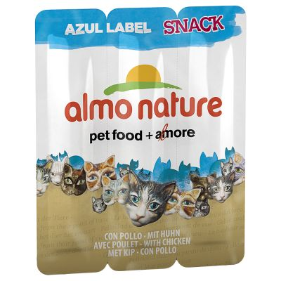 Almo Nature Snack Azul Label