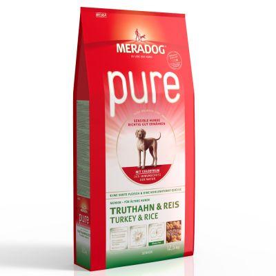 Meradog Pure Senior Turkey & Rice - 2 x 12,5 kg