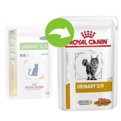 Royal Canin Feline Urinary S/O Chicken - Veterinary Diet - 24 x 85 g mousse