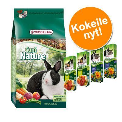 Cuni Nature + Versele-Laga Nature Sticks erikoishintaan! - 2,5 kg