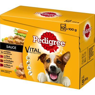 Pedigree Pouch in Sauce -monipakkaus – 24 x 100 g