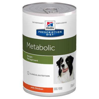 Hill´s Prescription Diet Canine Metabolic Weight Management - kana - 12 x 370 g