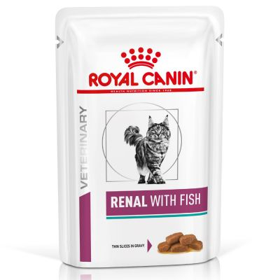 Royal Canin Veterinary Diet Feline Renal - Fish, 12 x 85 g