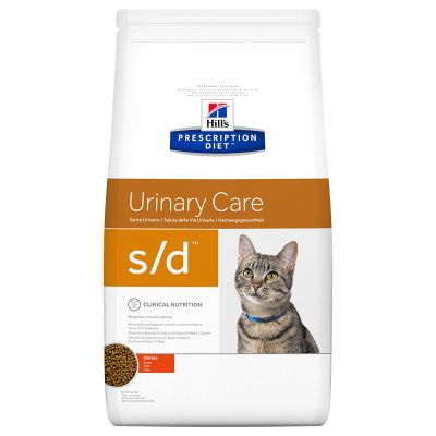 Hill's s/d Prescription Diet Urinary Care pienso para gatos - 2 x 5 kg - Pack Ahorro