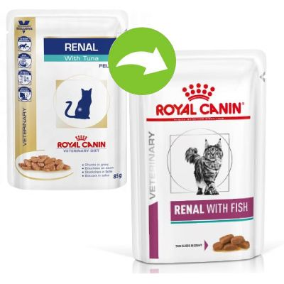 Royal Canin Renal Fish - Veterinary Diet - 24 x 85 g