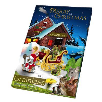 JR Farm Grainless -joulukalenteri pieneläimille – 1 kpl (360 g)