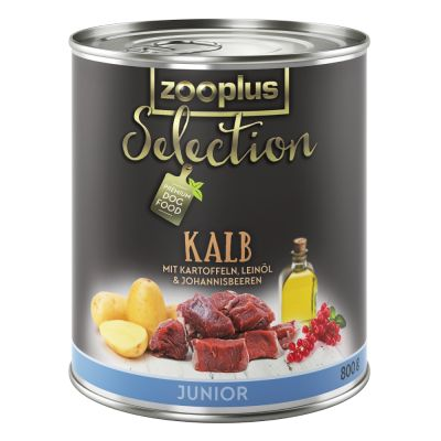 zooplus Selection Junior: vasikka - 6 x 400 g