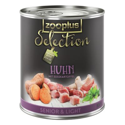 zooplus Selection Senior Light kuřecí 6 x 800 g